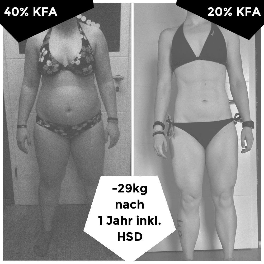 Wie man an einem Tag 20 Kilo abnehmen kann